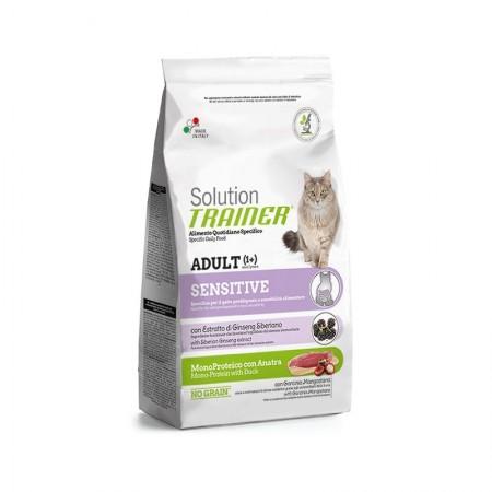 Solution Trainer Sensitive Monoproteico Con Anatra per Gatti