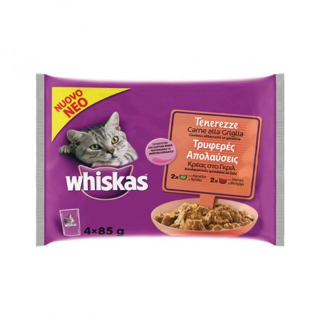 Whiskas Tenerezze Carne alla Griglia