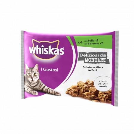 Whiskas I Deliziosi da Mordere - Pollo E Salmone