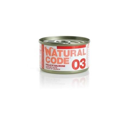 Natural Code - Adult Cat 03 Pollo e Salmone