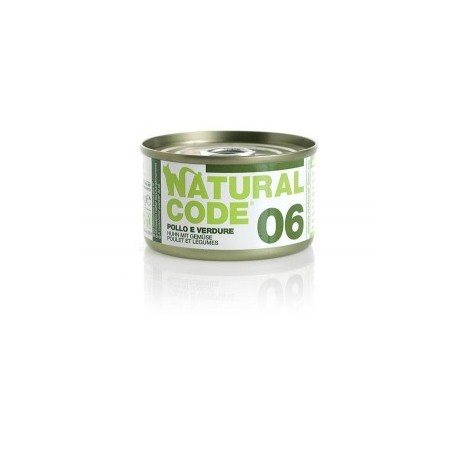 Natural Code Adult Cat 06 Pollo e Verdure
