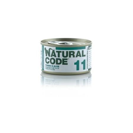 Natural Code - Adult Cat 11 Tonno e Aloe