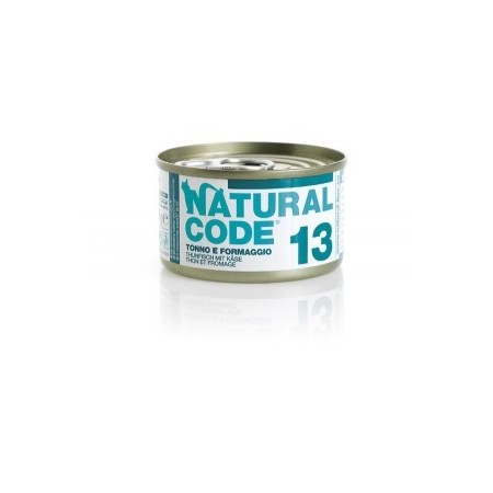 Natural Code - Adult Cat 13 Tonno e Formaggio