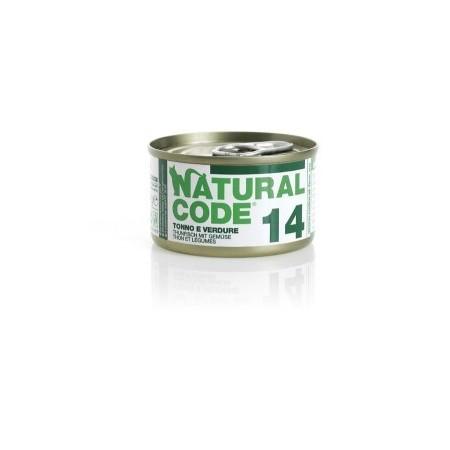 Natural Code - Adult Cat 14 Tonno e Verdure