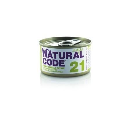 Natural Code - Adult Cat 21 Tonno, Agnello e Patate