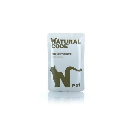 Natural Code Bustine P01 Tonno e Verdure