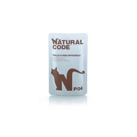 Natural Code - Bustine P04 Pollo e Riso Integrale