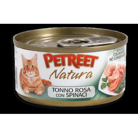 Petreet Natura Tonno Rosa con Spinaci