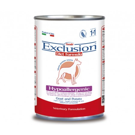 Exclusion Diet Hypoallergenic Capra e Patate Umido
