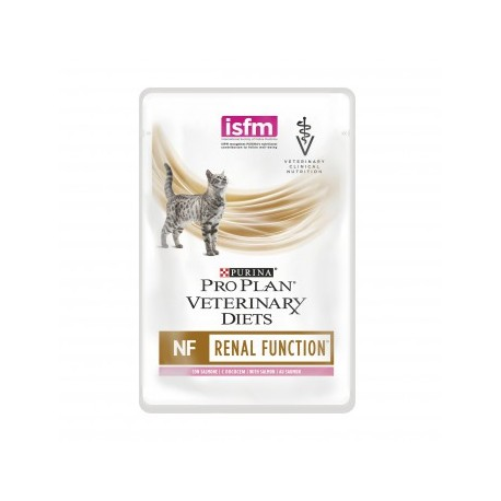 PURINA PRO PLAN VETERINARY DIETS Feline NF Renal Function Bustina Gatto Salmone