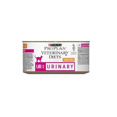 PURINA PRO PLAN VETERINARY DIETS Feline UR StOx Urinary Umido Tacchino