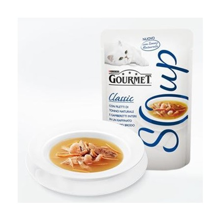 Gourmet Soup - Tonno e Gamberetti