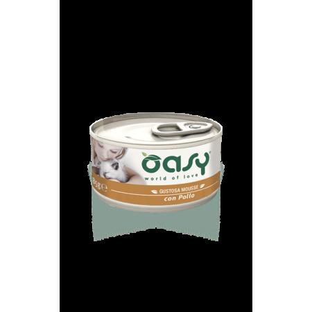 Oasy Cat Mousse con Pollo