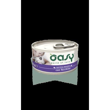 Oasy Cat Mousse con Tacchino