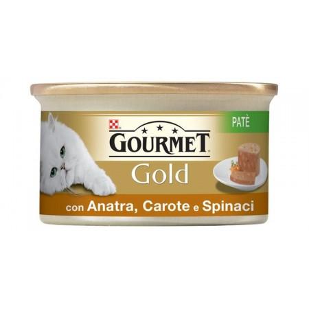 Gourmet Gold - Patè con Anatra Carote e Spinaci