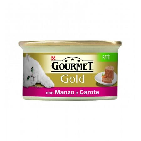 Gourmet Gold - Patè con Manzo e Carote