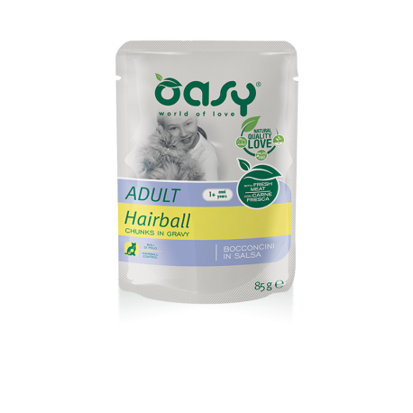 Oasy Bocconcini in Salsa - Adult Hairball