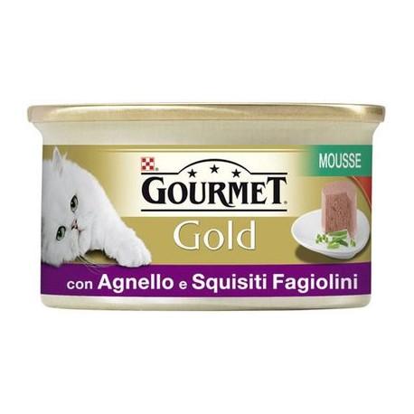 Gourmet Gold Mousse con Agnello e Squisiti Fagiolini