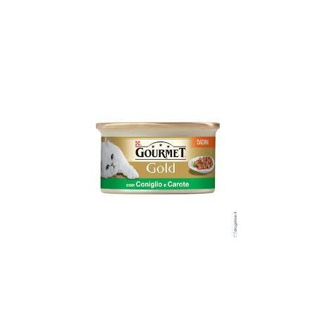 Gourmet Gold - Dadini  con Coniglio e Carote