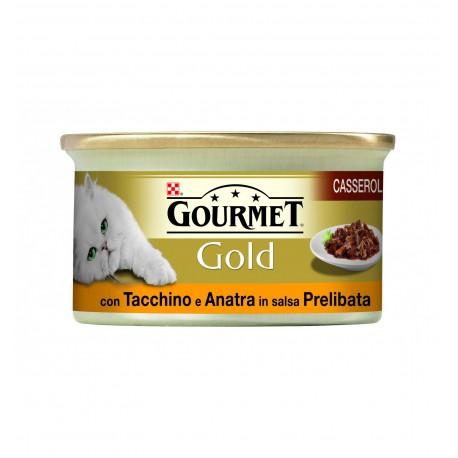 Gourmet Gold Casserole  con Tacchino e Anatra in Salsa