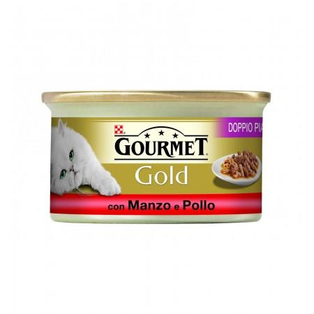 Gourmet Gold - Doppio Piacere  con Manzo e Pollo