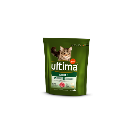 Ultima Gatto Adult Manzo