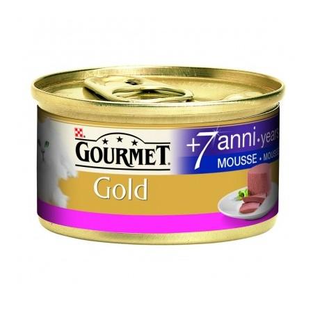 Gourmet Gold - Mousse Senior 7+ con Manzo