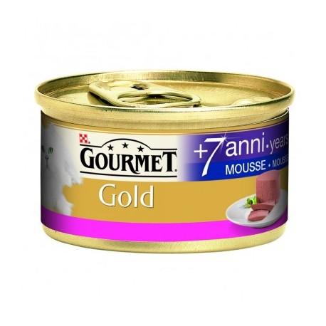 Gourmet Gold Mousse Senior 7+ con Manzo