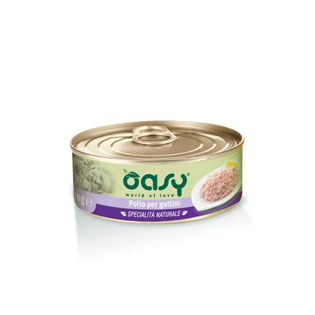 Oasy Wet Cat Lattina - Pollo per Gattini