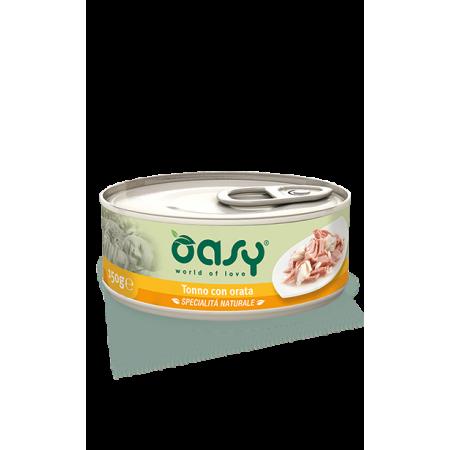 Oasy - Gatto Lattina con Tonno con Orata