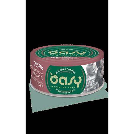 Oasy Gatto More Love - Pollo con Fegato