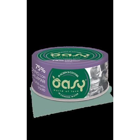Oasy Gatto More Love - Tonno con Calamari