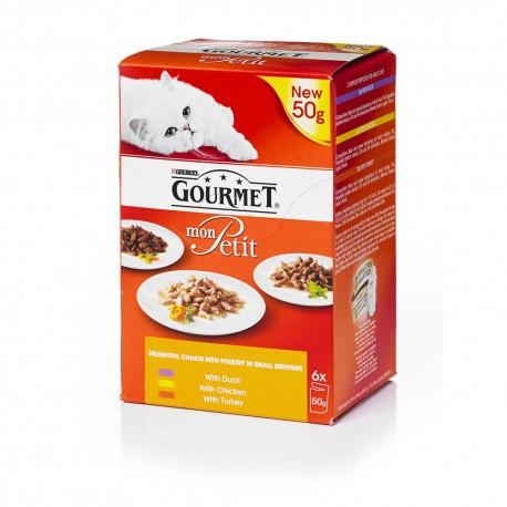 Gourmet Mon Petit Multipack Anatra Pollo e Tacchino