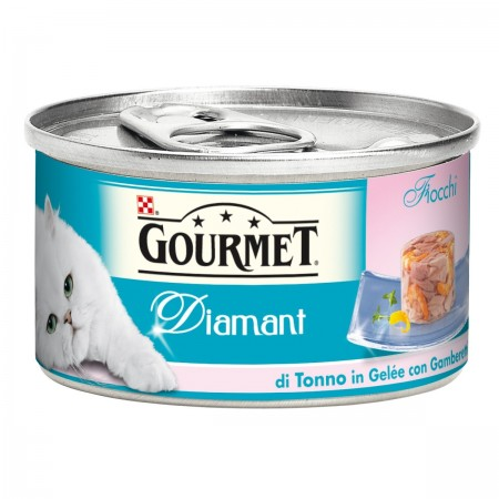 Gourmet Diamant Fiocco di Tonno in Gelè con Gamberetti