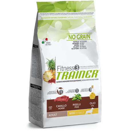 Trainer Fitness 3 - Adult Mini con Coniglio, Patate e Olio