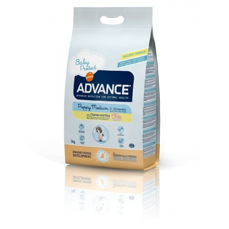 Advance Puppy Medium con Pollo
