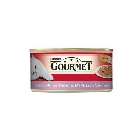 Gourmet Red Trancetti in Gelè Sogliola Merluzzo e Verdure