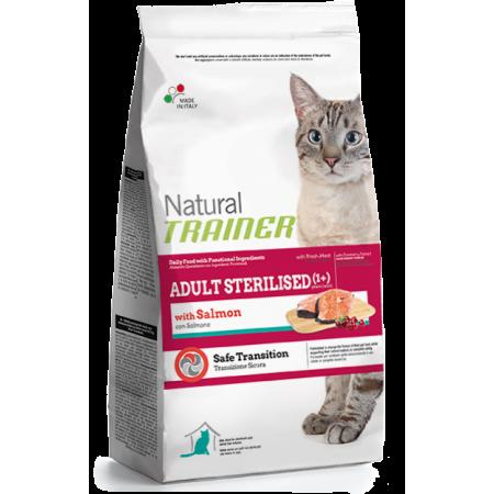Natural Trainer Cat Adult Sterilized Salmone