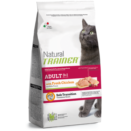 Natural Trainer Gatto Adult al Pollo Fresco
