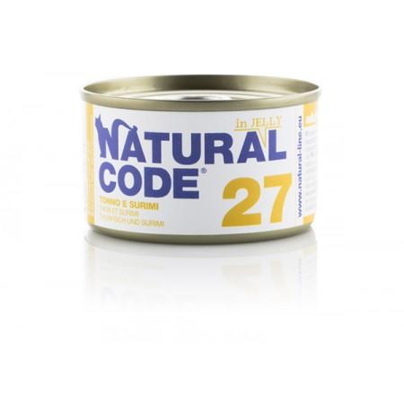 Natural Code Adult Cat 27 Tonno e Surimi