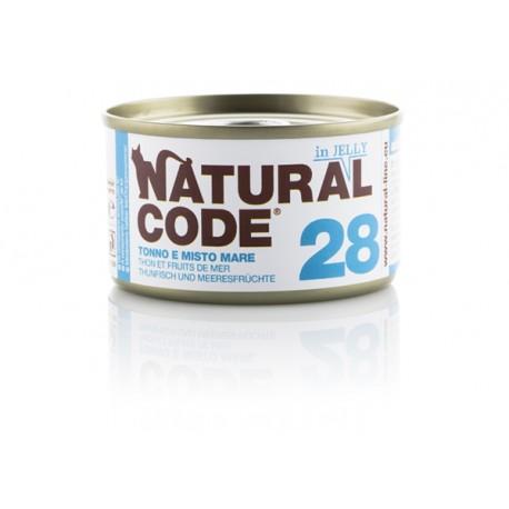 Natural Code Adult Cat 28 Tonno e Misto Mare
