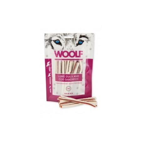 Woolf Snack Strisce Di Anatra E Merluzzo