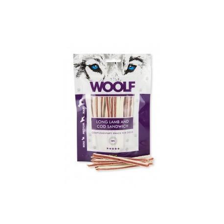 Woolf Snack Strisce Di Agnello E Merluzzo