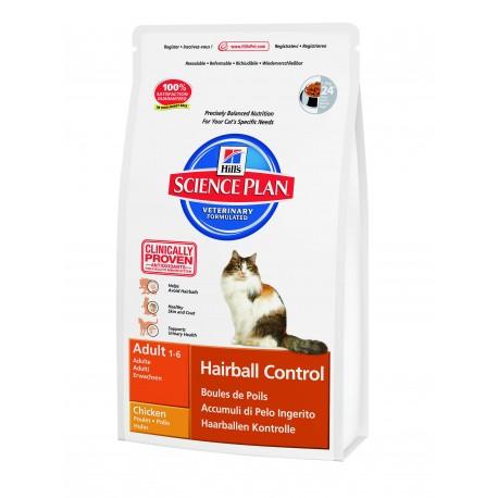 Hill's Gatto Adult Hairball Control al Pollo