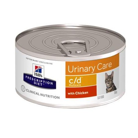 Hill's Prescription Diet C/D Umido Gatto