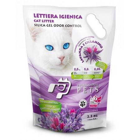 Professional Pets Lettiera Gel di Silicio - Lavanda