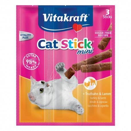 Vitakraft Cat Stick Mini - Tacchino e Agnello
