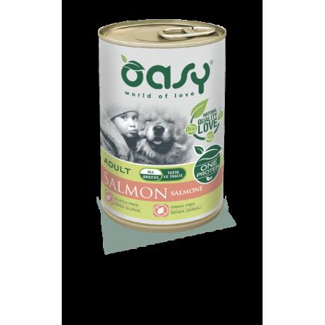 Oasy Umido Cane Monoproteico - Adult Salmone
