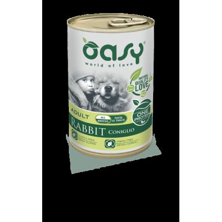 Oasy Umido Cane Monoproteico - Adult Coniglio