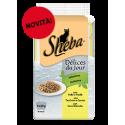 Sheba Délices Du Jour In Salsa Con Verdure Pollo Tacchino e Carni Bianche